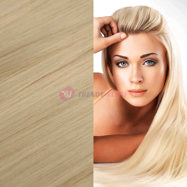 Clip in sady LUXURY 12-ti dílné - Clip in sada LUXURY , odstín 613 - super blond