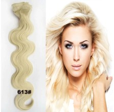 Clip in sada LUXURY WAVY, odstín 613 - super blond