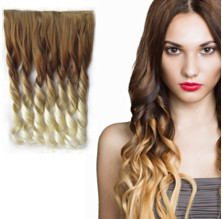 Clip in lokny OMBRE, 27T613 - plavá - blond